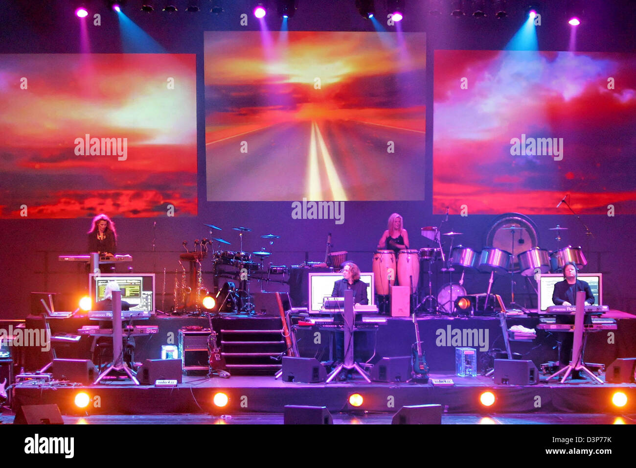 German synth band Tangerine Dream perform on the occasion ...