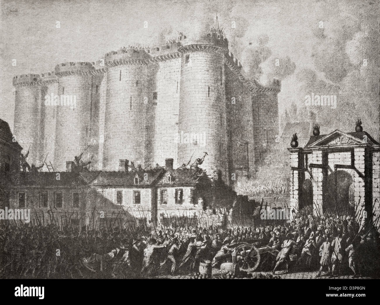 Storming Of The Bastille Stock Photos & Storming Of The Bastille ...