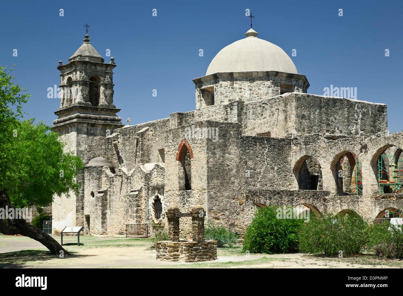 Mission San Jose Y San Miguel De Aguayo 1782 San