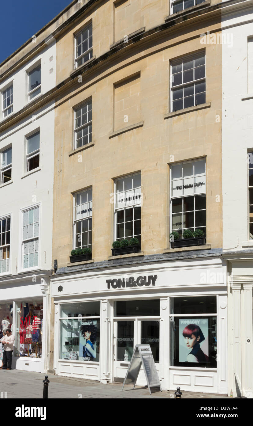 the toni guy hairdressing salon on new bond street bath