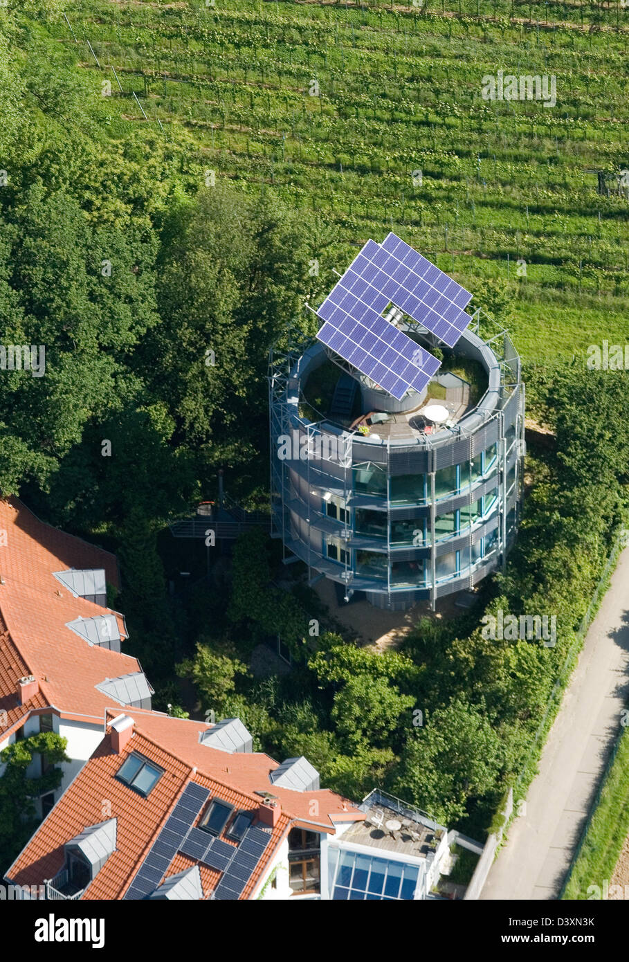 Freiburg Germany Heliotrope The Architect Rolf Disch In