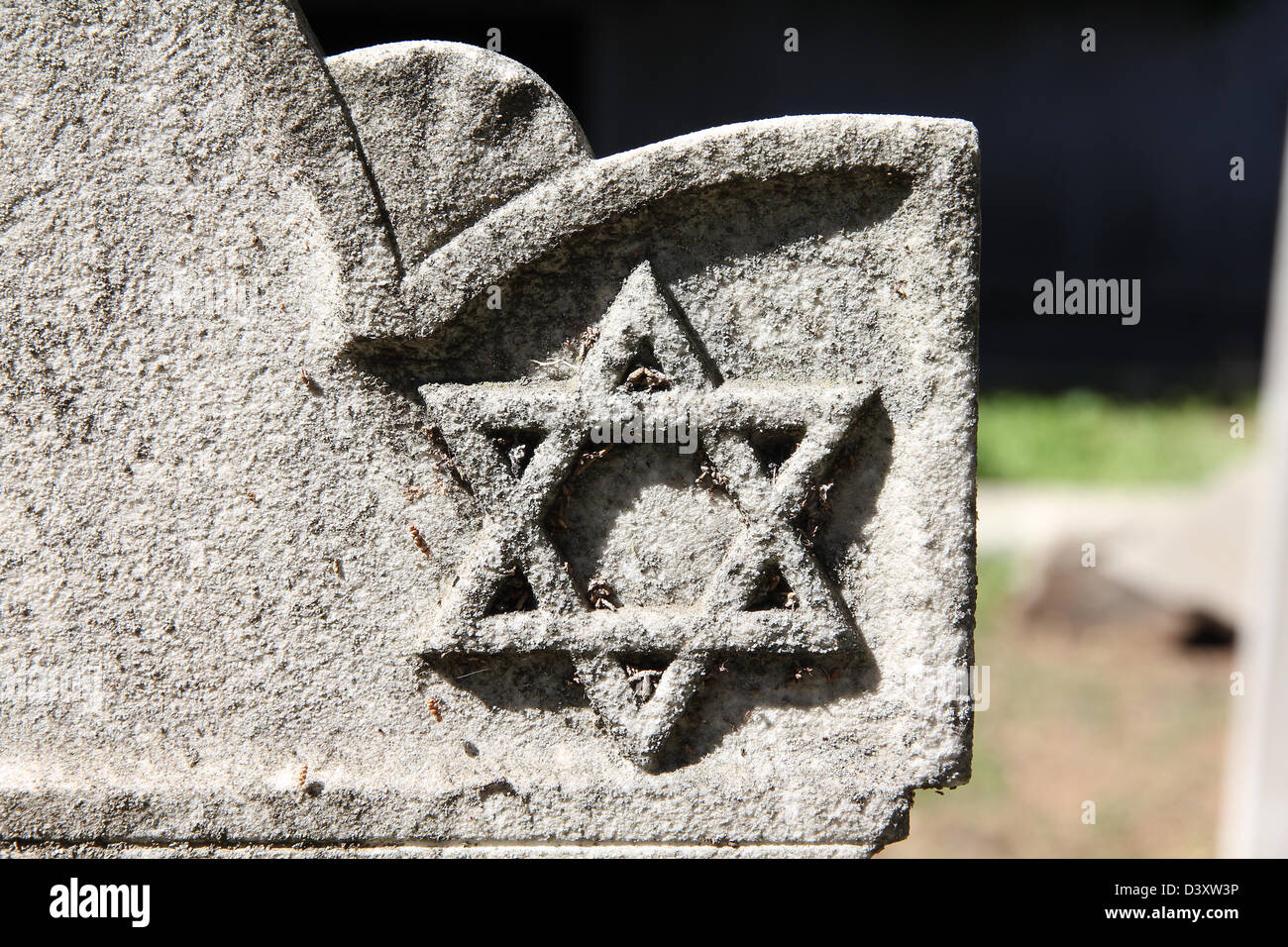 Jewish star of david symbol on a door on the old town of kashan city star of david jewish symbol on an old hebrew grave in campo verano cemetery buycottarizona Images