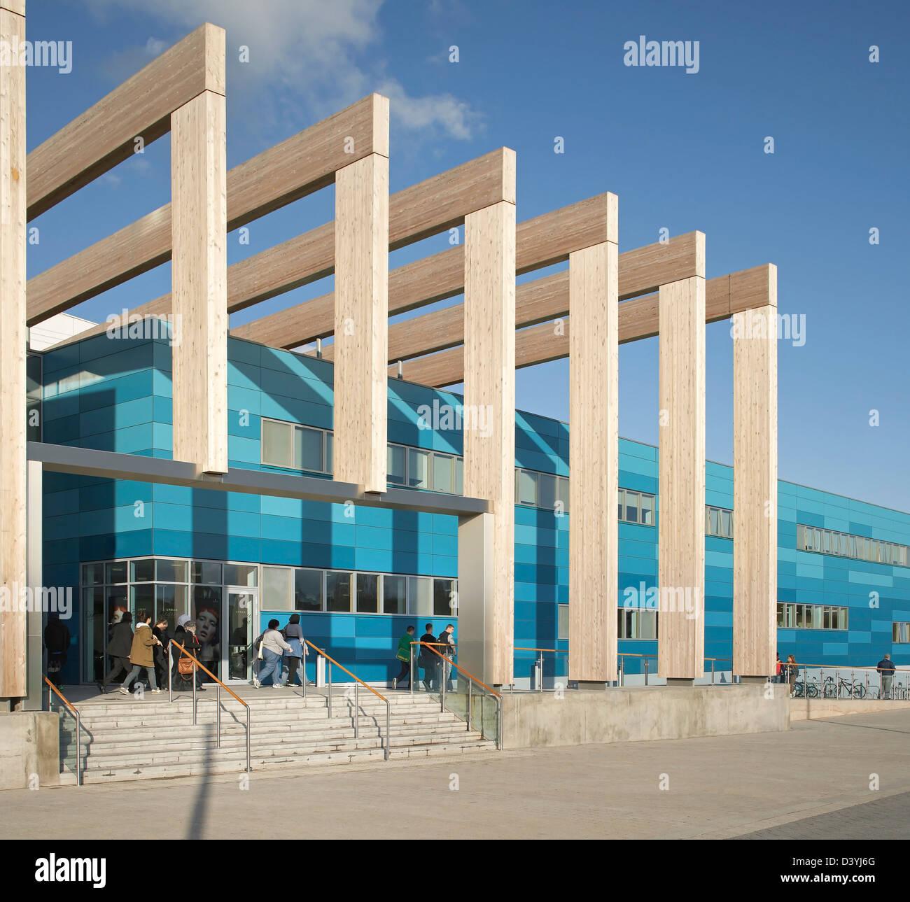 Bournville college birmingham united kingdom architect - Broadway malyan ...