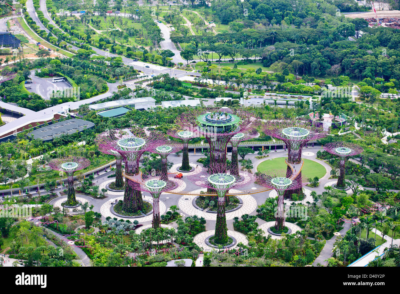 Marina Bay Sands Casino Deck Views Gardens By The Bay Flower