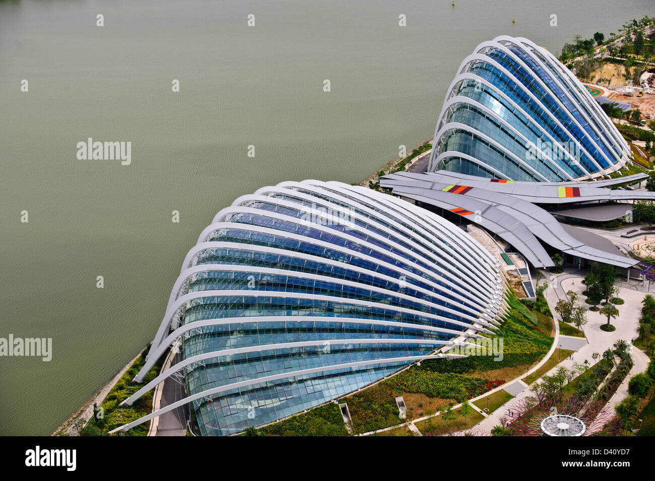 Garden By The Bay Flower Dome gardensthe bay in singapore including supertrees, and the
