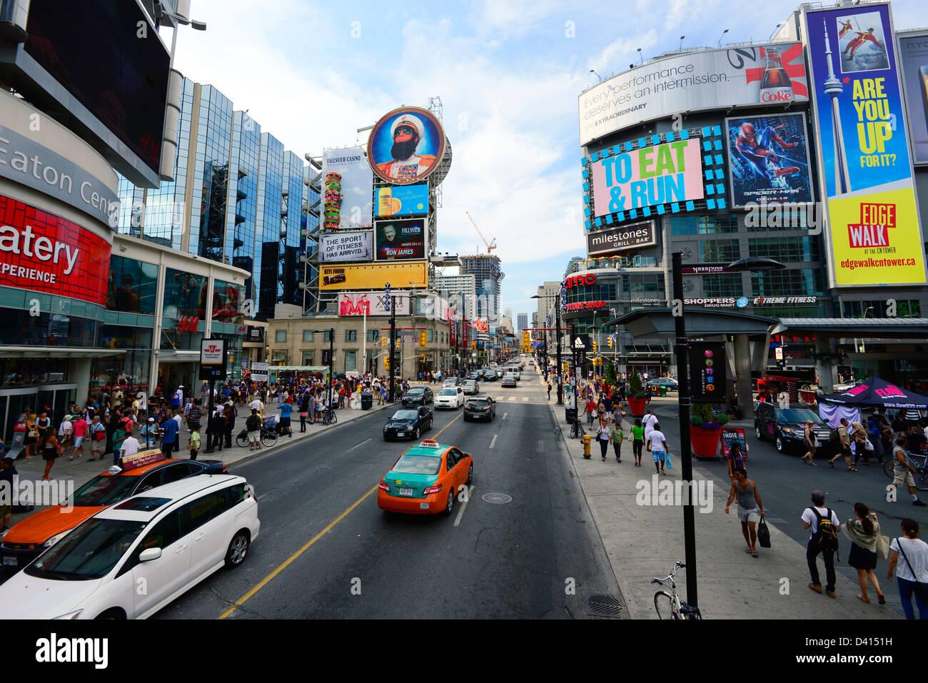 Ontario Canada Downtown Toronto Ontario...
