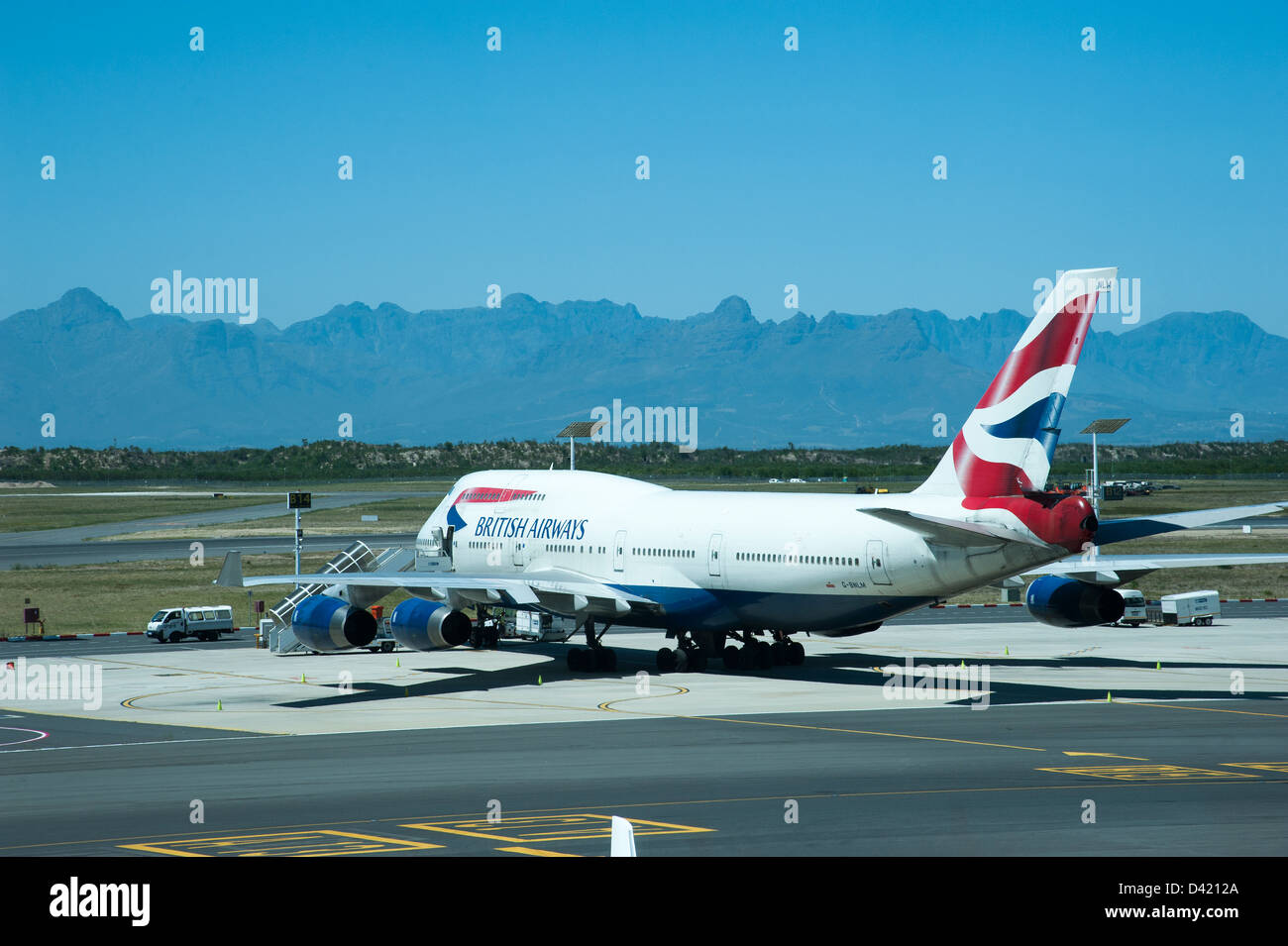 White apron cape town - British Airways Boeing 747 Aircraft On The Apron Cape Town International Airport South Africa Ba Fleet