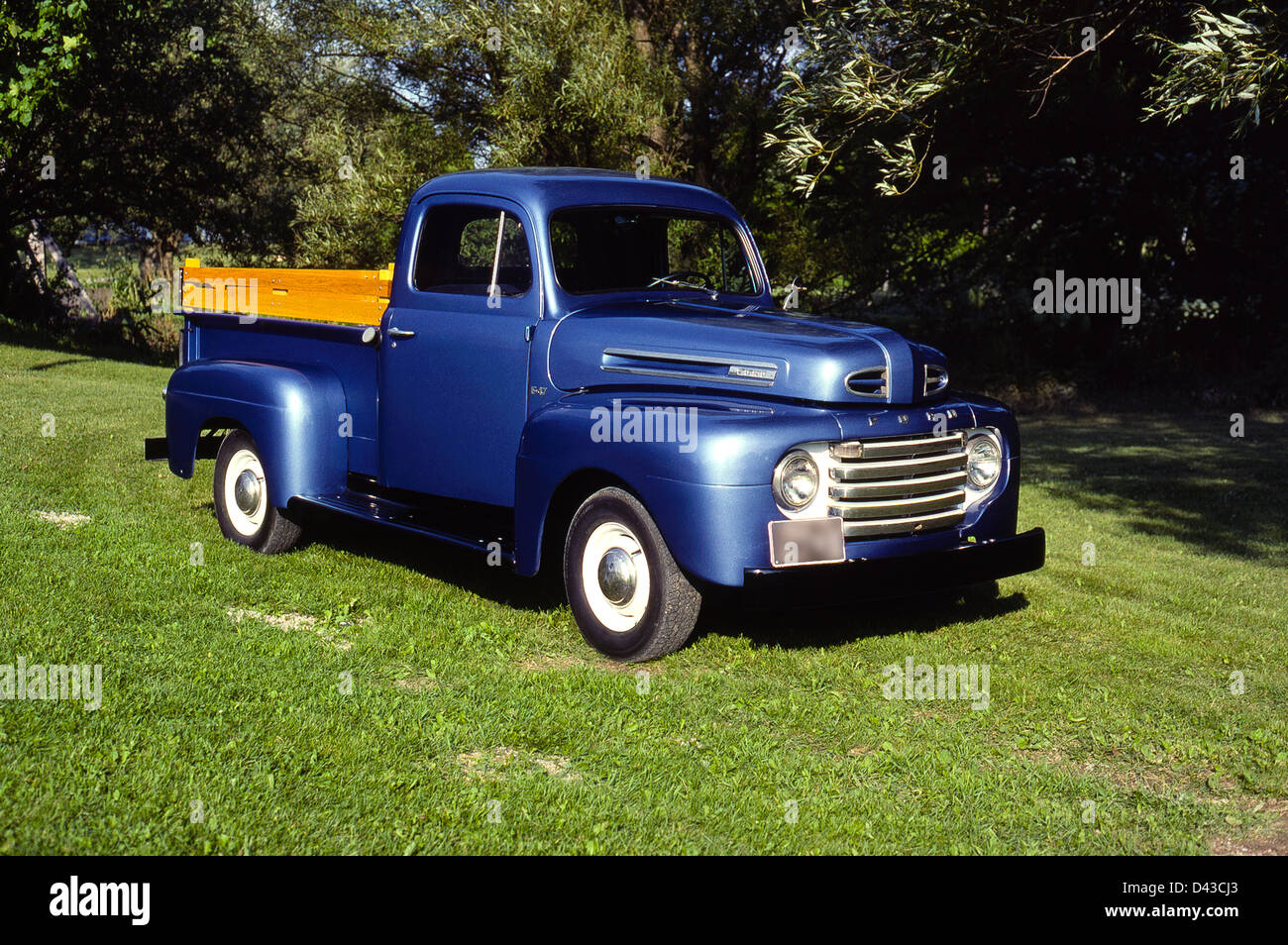1950 ford 1 2 ton pick up truck stock photo royalty free image 54165499 alamy. Black Bedroom Furniture Sets. Home Design Ideas