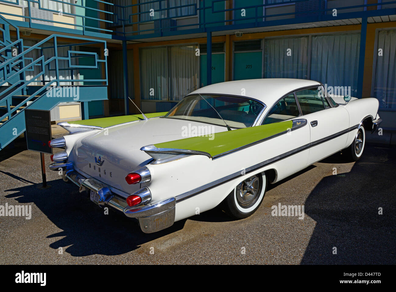 Courtyard Cars Lorraine Motel Martin Luther King Assassination ...