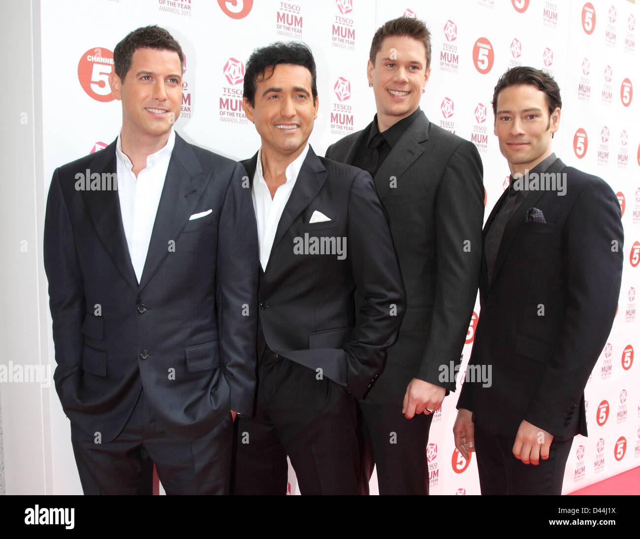 Il divo tesco mum of the year awards at the savoy hotel - Il divo news ...
