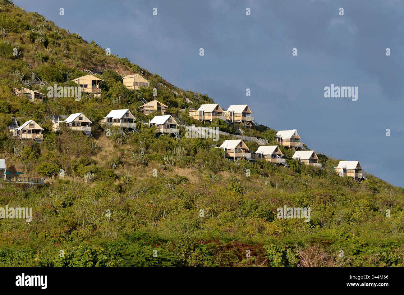 Concordia Eco Resort St. John U.S. Virgin Islands & Concordia Eco Resort St. John U.S. Virgin Islands Stock Photo ...