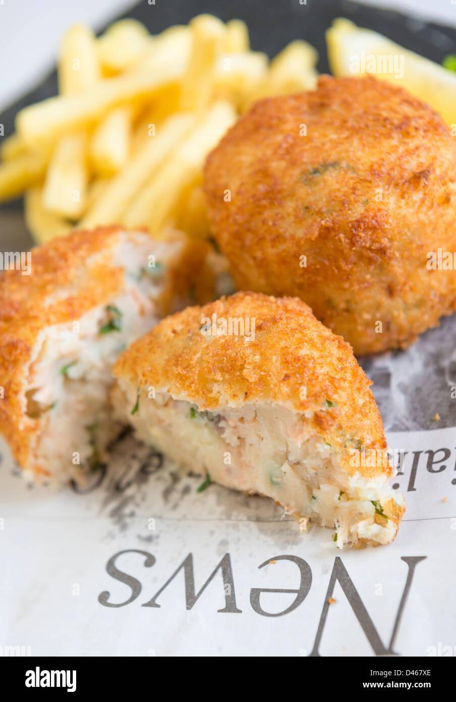 How to make chip shop rissoles for Old fashioned cod fish cakes