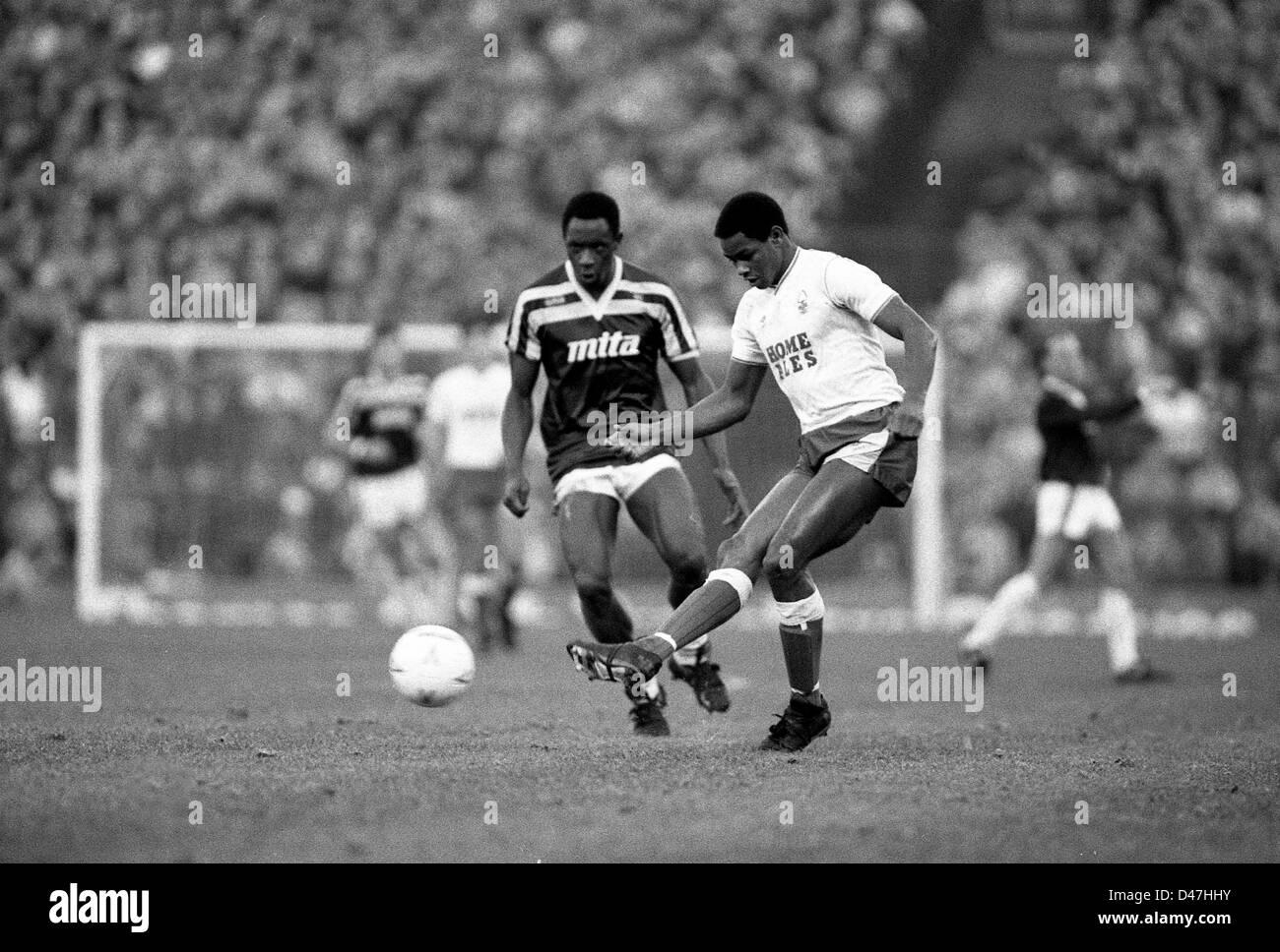 Aston Villa footballer Paul Mortimer in action during the league ...