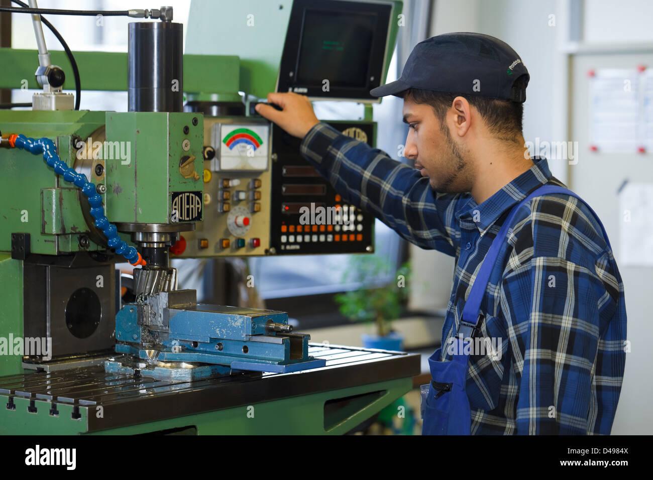 Berlin, Germany, Industrial Mechanic Apprentice Training Center In ...