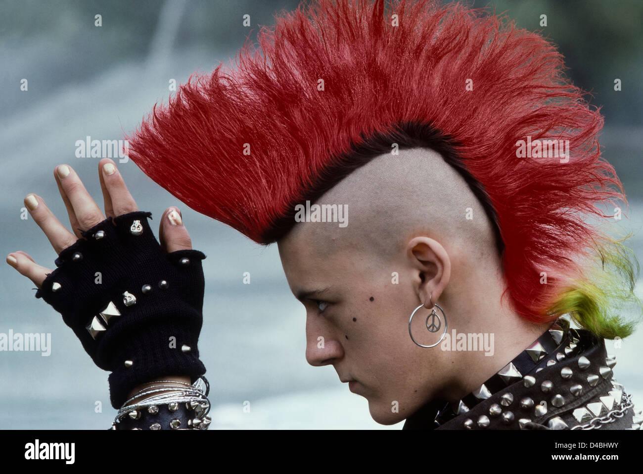 Portrait Of Quot Matt Belgrano Quot A 1980 S Punk Rocker Who