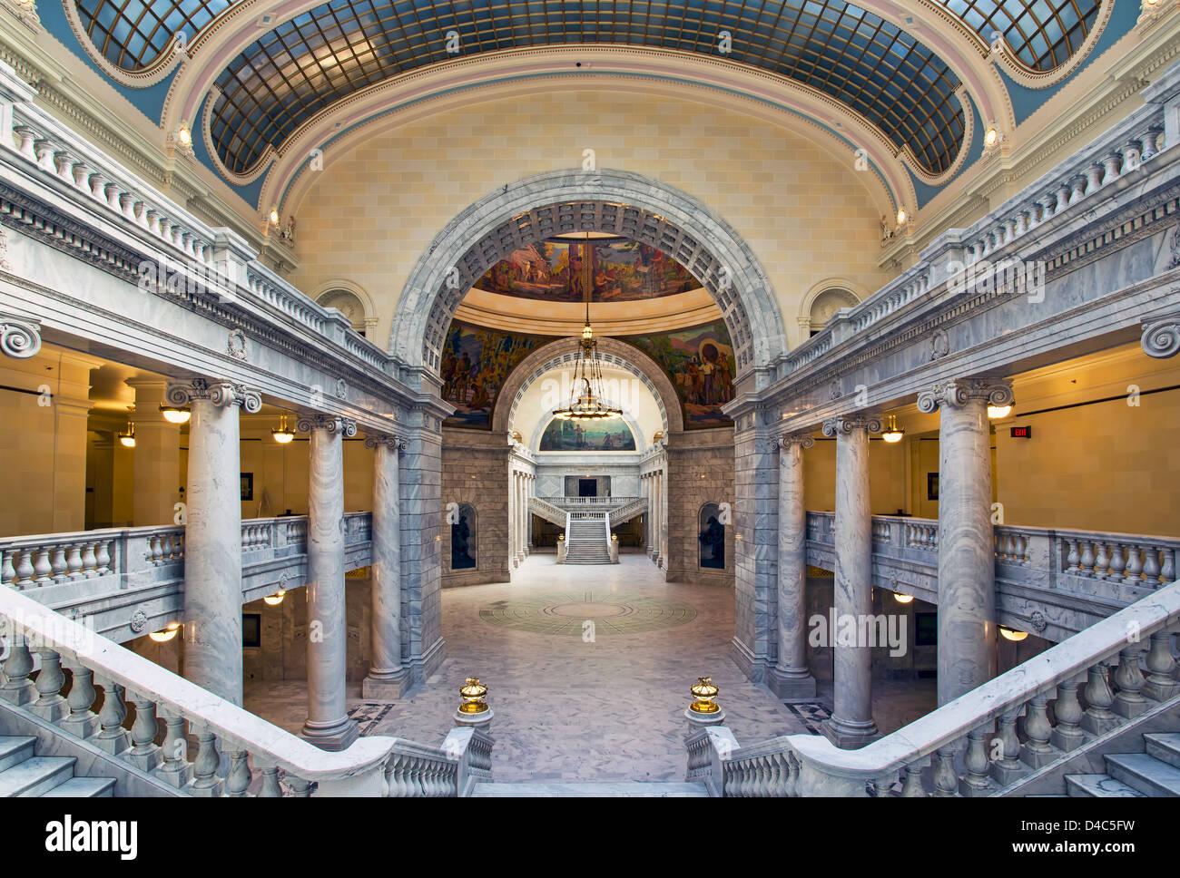 Utah State Capital Building House Of Representatives Stock