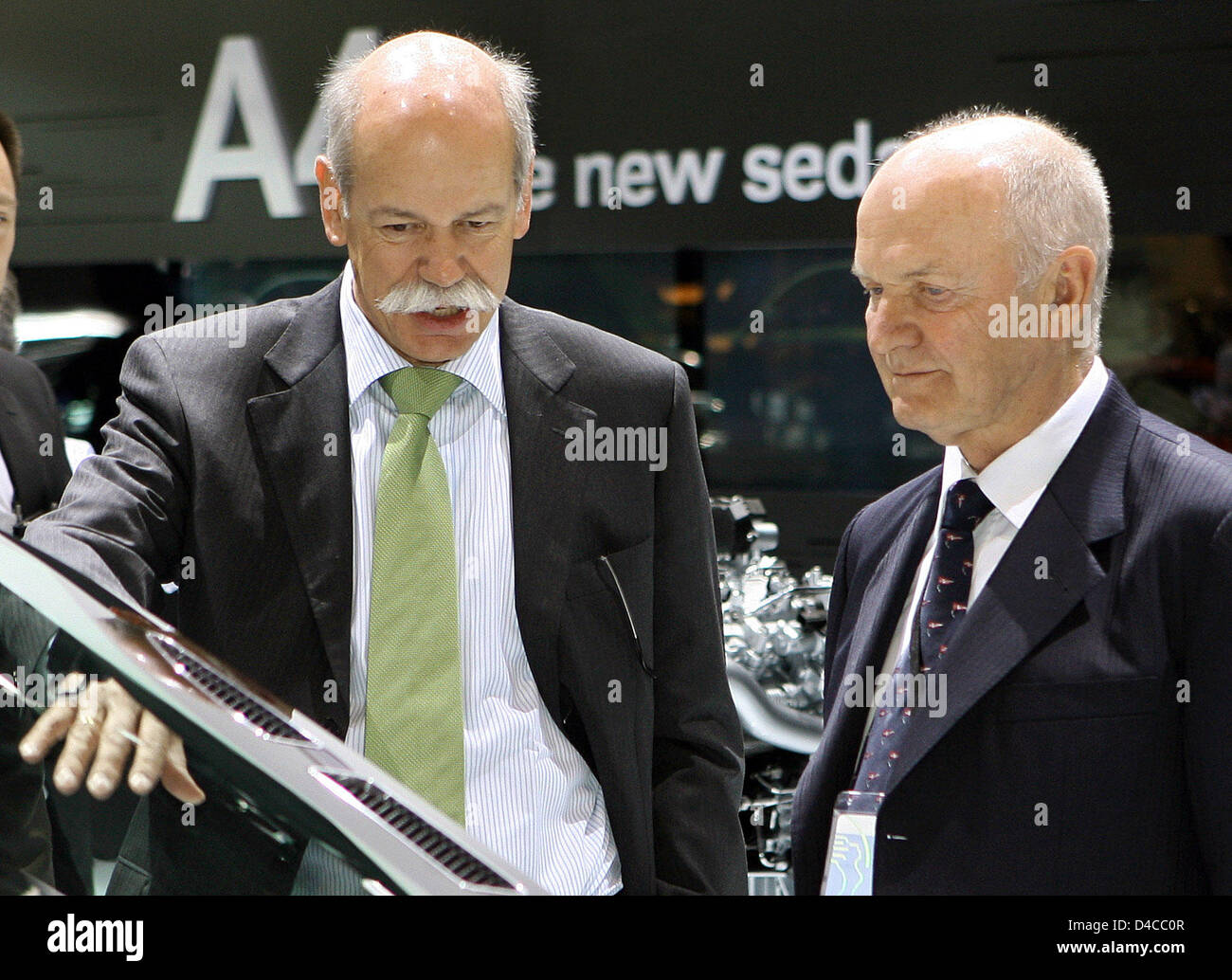 Dieter Zetsche L Ceo Of Mercedes And Ferdinand Piech