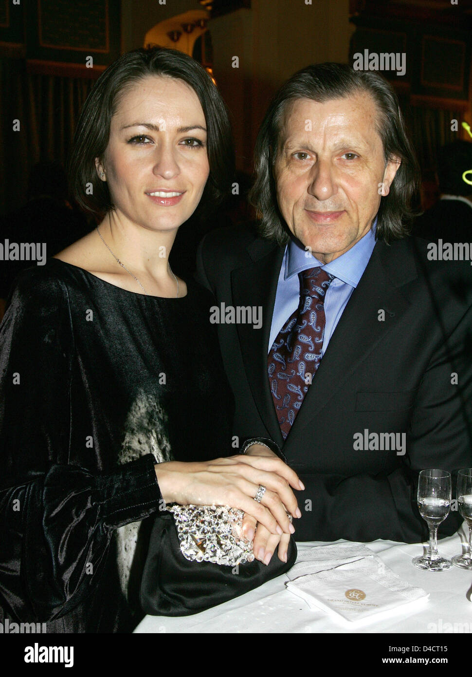 Former Romanian tennis player Ilie Nastase is pictured with his