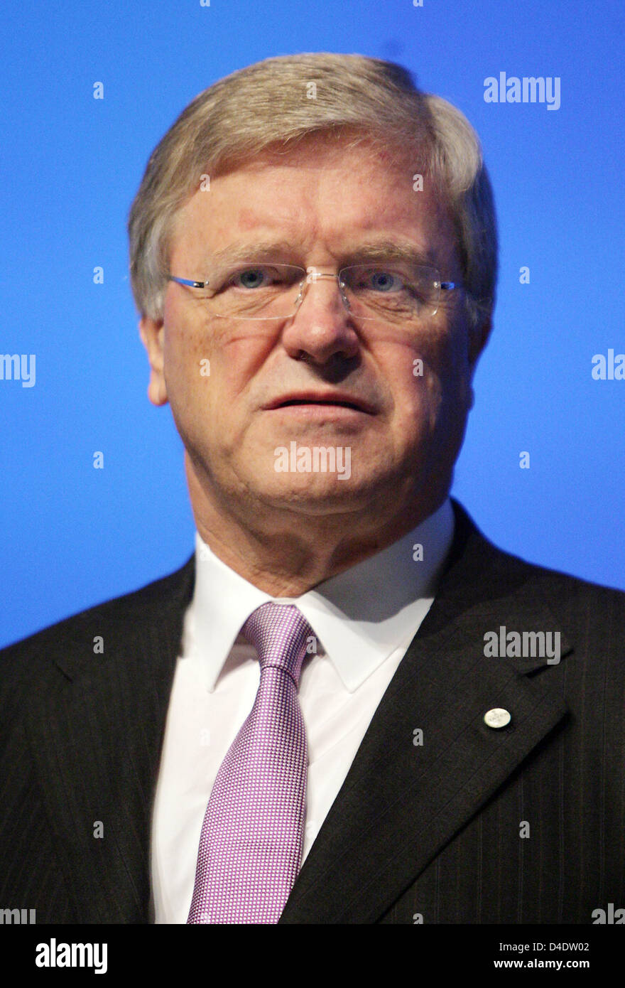 Werner Ag ceo of bayer ag werner wenning is pictured prior to the company s