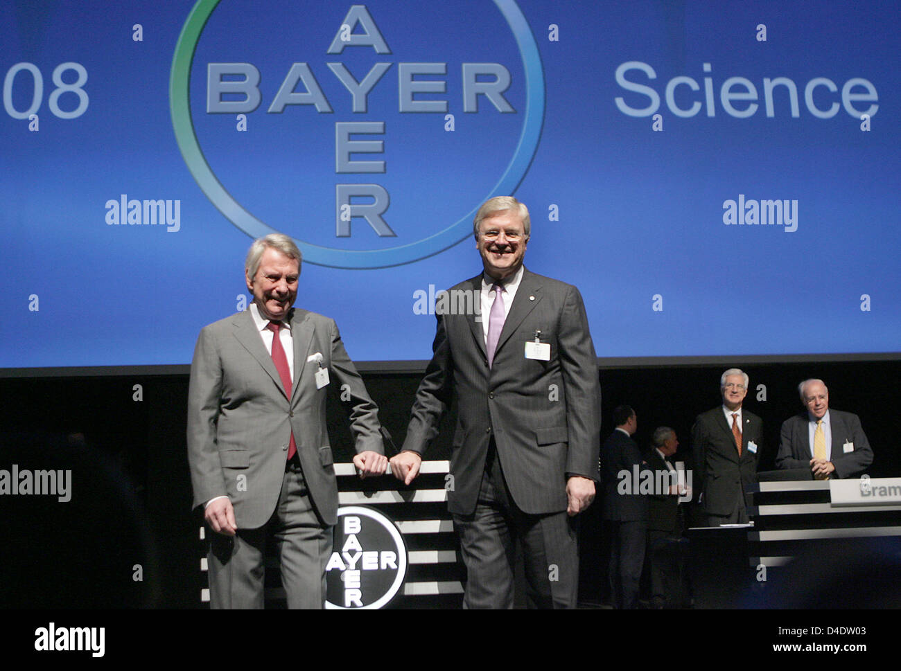 Werner Ag ceo of bayer ag werner wenning r and chairman of the supervisory