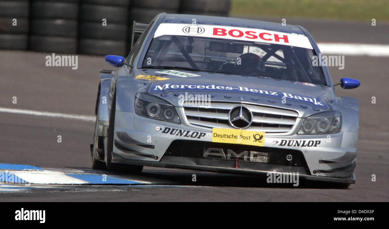 Canadian dtm driver bruno spengler of mercedes benz bank for Mercedes benz bank login