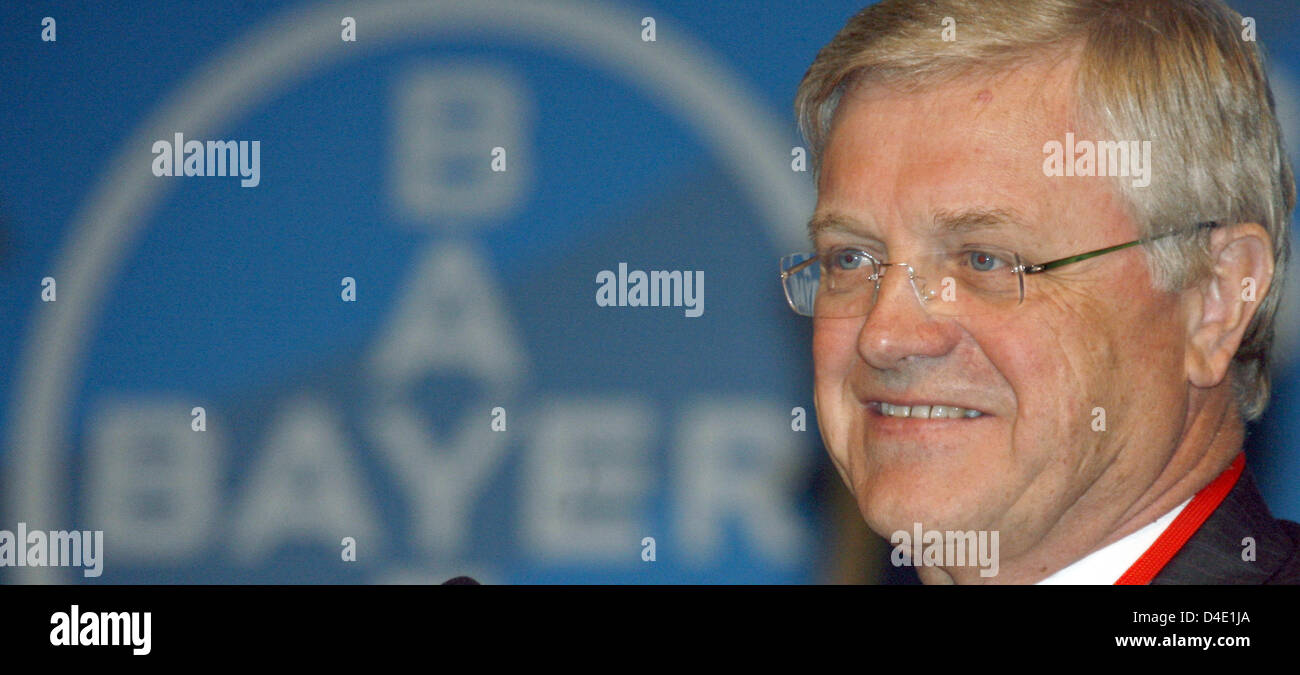 Werner Ag werner wenning chairman of the bayer schering pharma ag supervisory