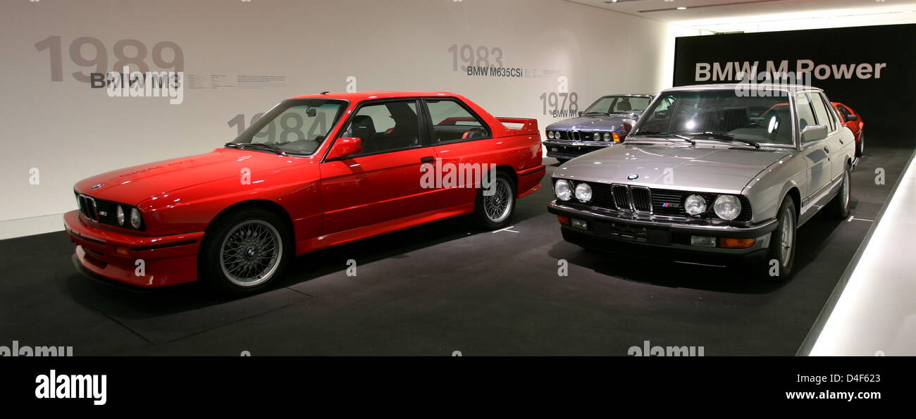 The Picture Shows Different BMW Cars In The BMW Museum In Munich, Germany,  09