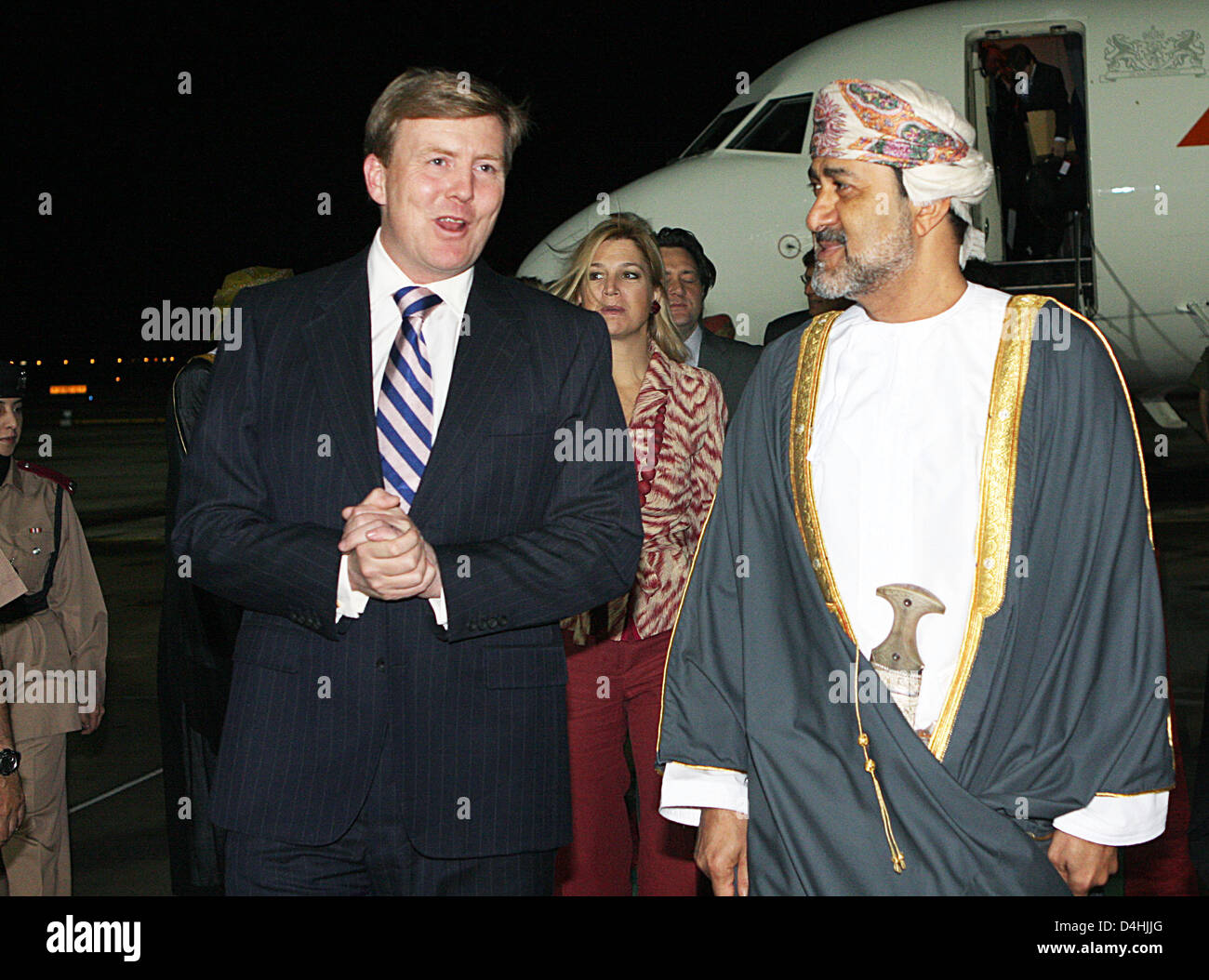 sayyid haitham bin tariq al siad r s minister of heritage sayyid haitham bin tariq al siad r s minister of heritage and culture welcomes crown prince willem alexander of the l and his wife