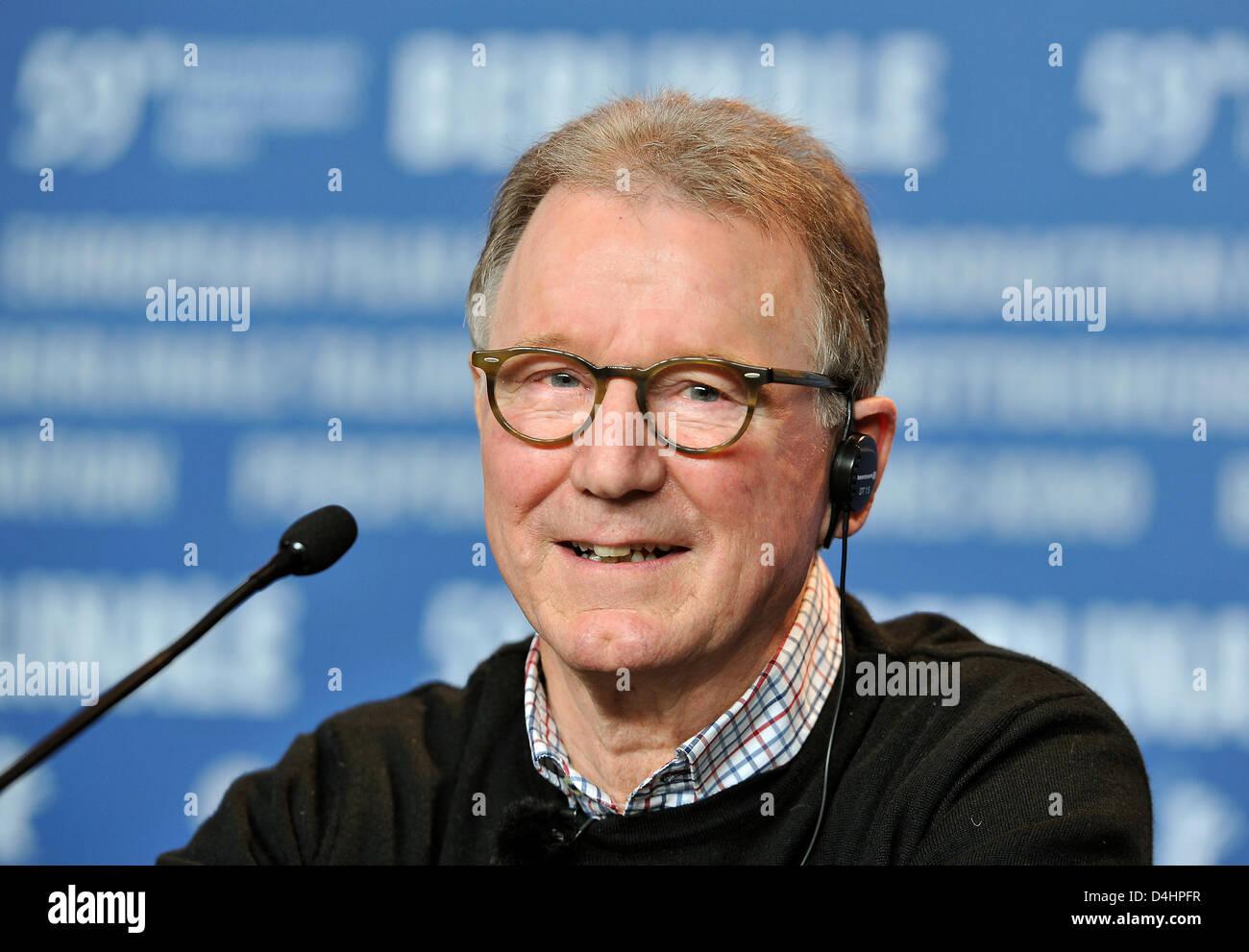 Danish actor <b>Finn Nielsen</b> smiles during a press conference of her film ? - danish-actor-finn-nielsen-smiles-during-a-press-conference-of-her-D4HPFR