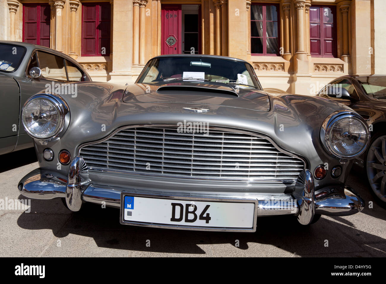 Classic cars on show in st pauls square mdina malta stock photo classic cars on show in st pauls square mdina malta sciox Images