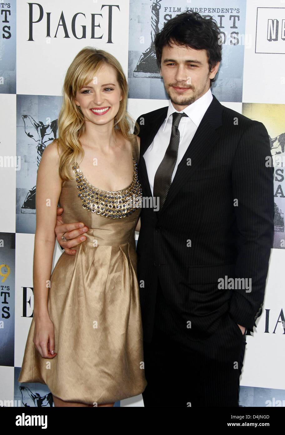Actor James Franco arr...