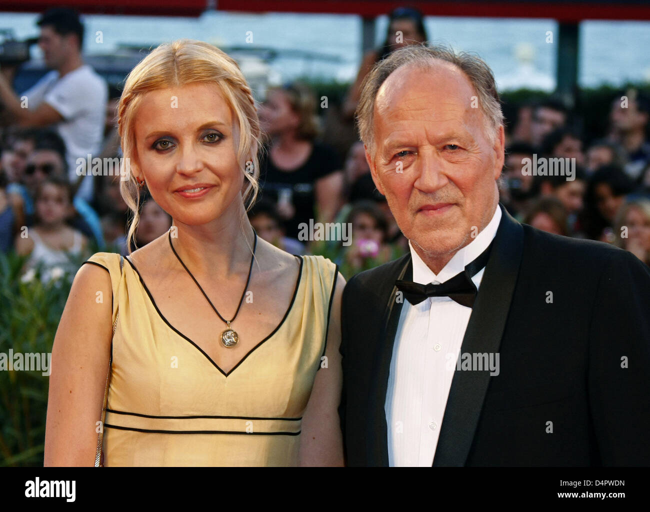 Director Werner Herzog and wife Lena Herzog arrive at the ...