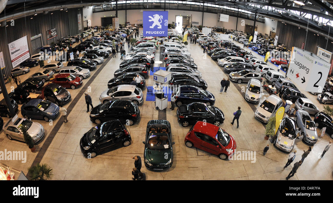The 105th southern Baden second hand car market on the compounds ...