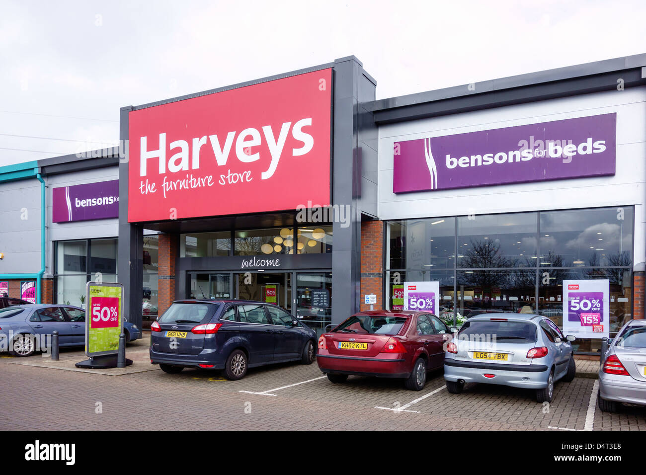 Harveys Furniture Store Canterbury Retail Park Stock Photo Royalty Free Image 54619328 Alamy