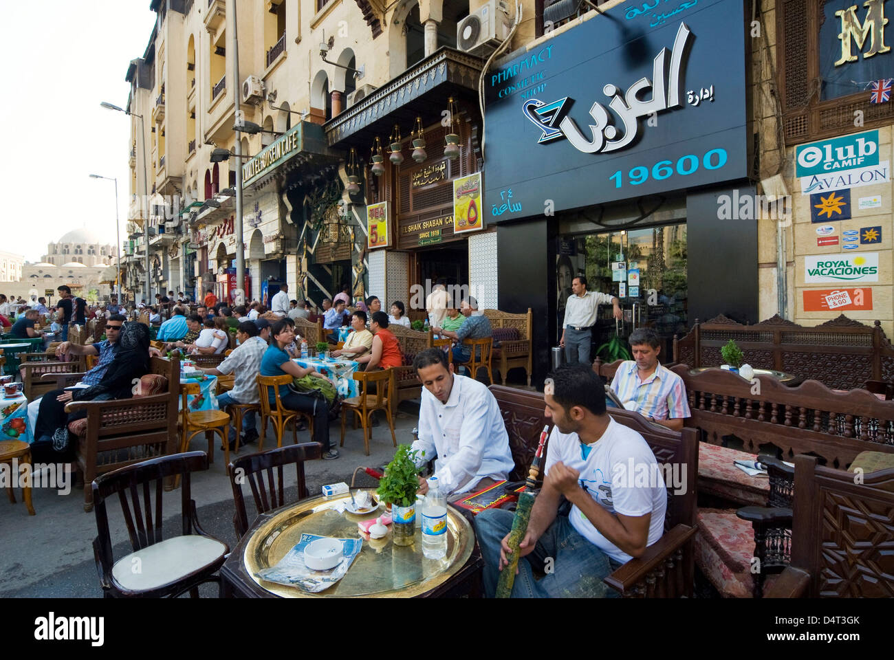 El hussein square and coffee shops khan al khalili area for Shopping in cairo