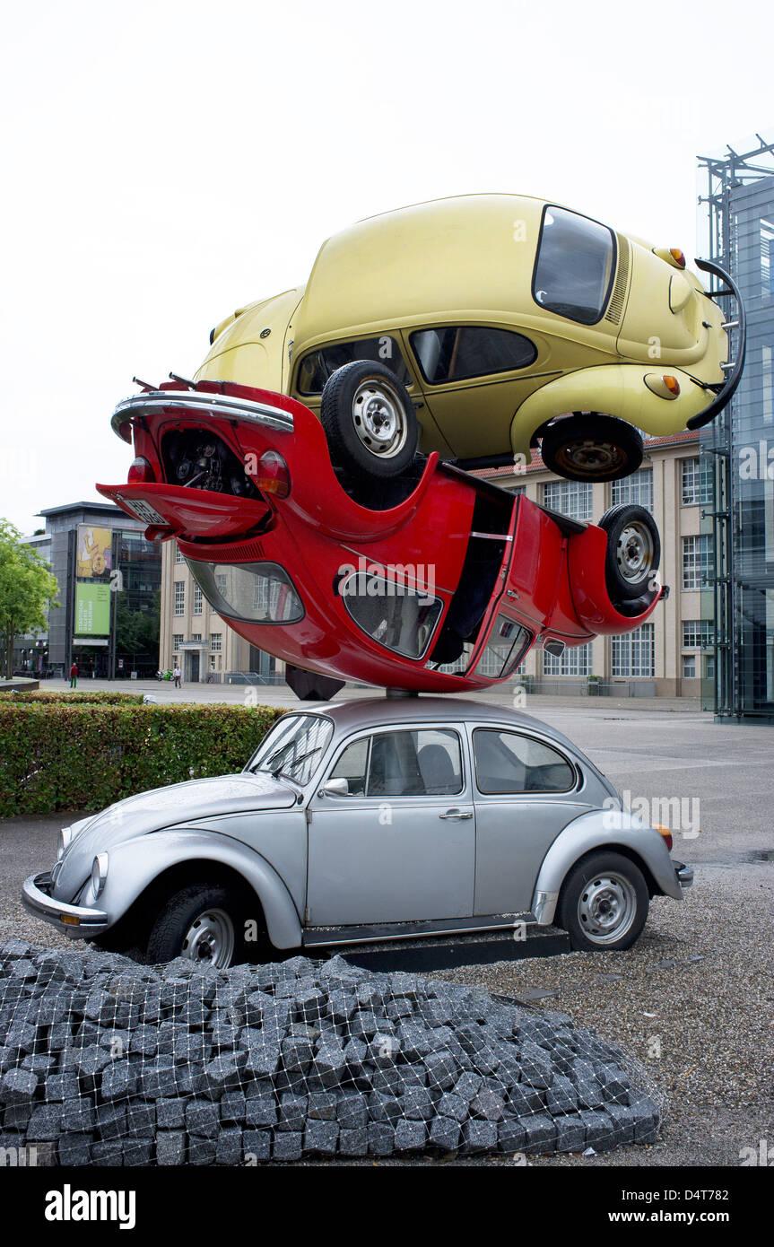 karlsruhe germany installation car building by hans. Black Bedroom Furniture Sets. Home Design Ideas