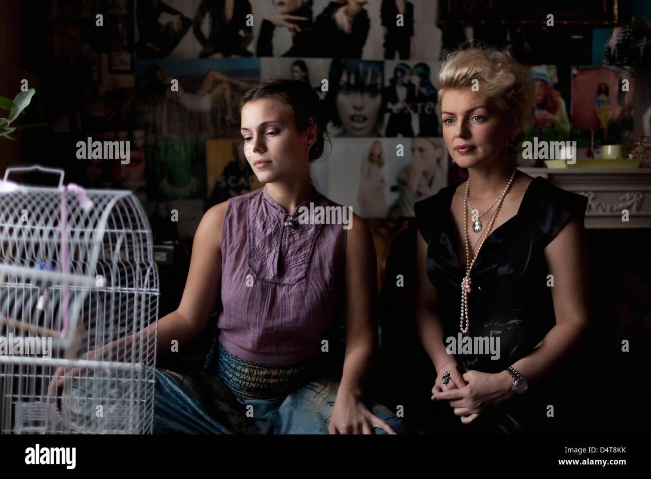 tallinn estonia former model beatrice in her restaurant nano
