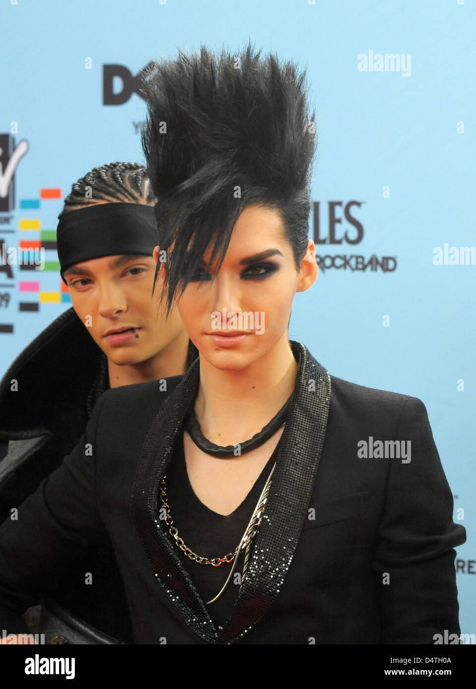 Picture of tom kaulitz - Brothers Bill Kaulitz Front And Tom Kaulitz Of The German Band Tokio Hotel