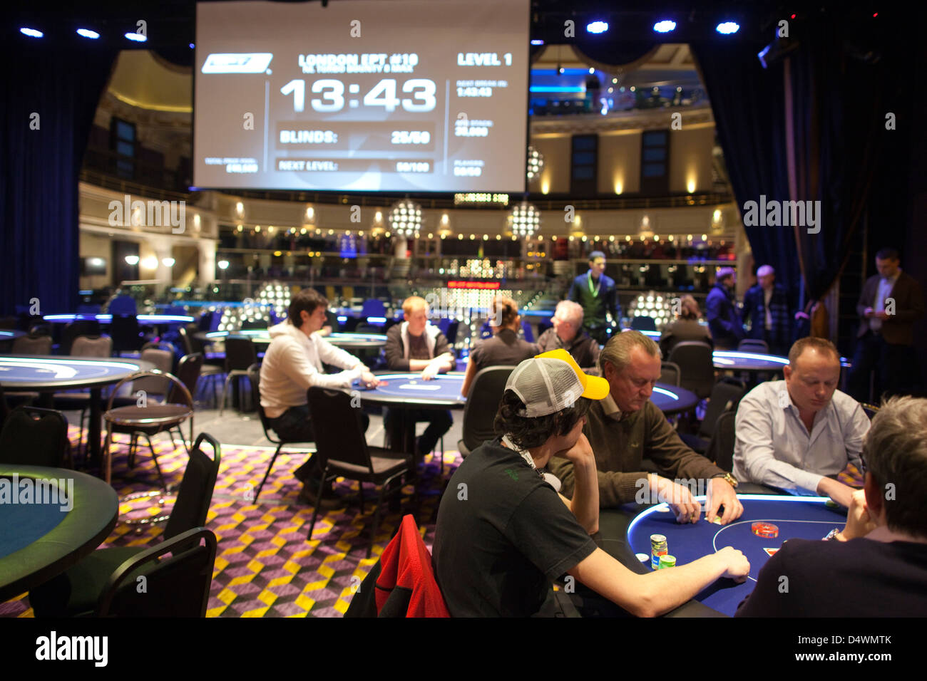 casino poker tournaments london
