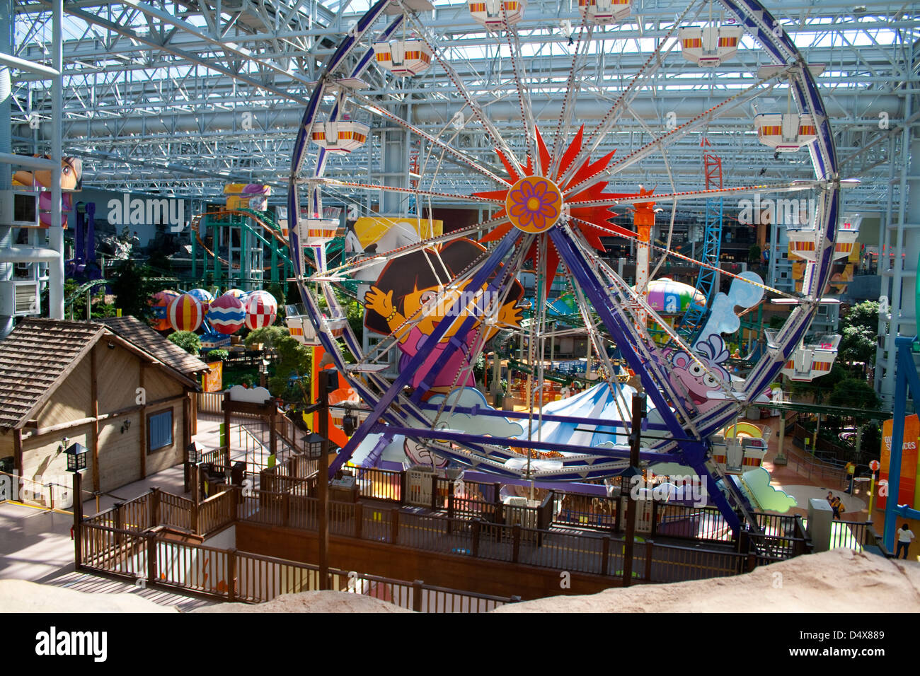Indoor Ferris Wheel Mall Of America MOA Largest Indoor Retail And - Largest mall in usa
