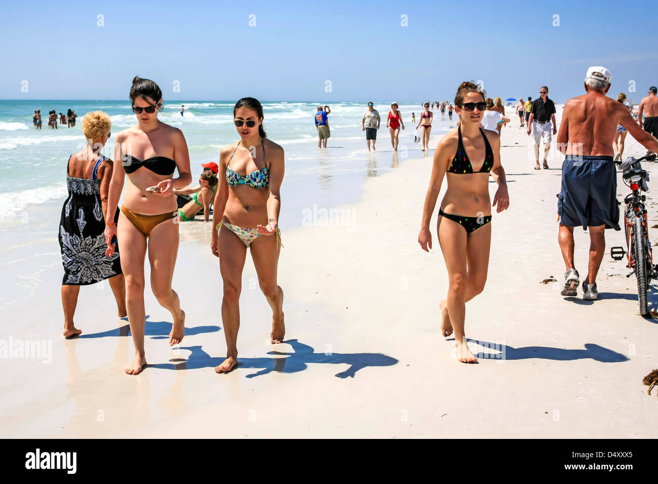 College girls spring break nude beach