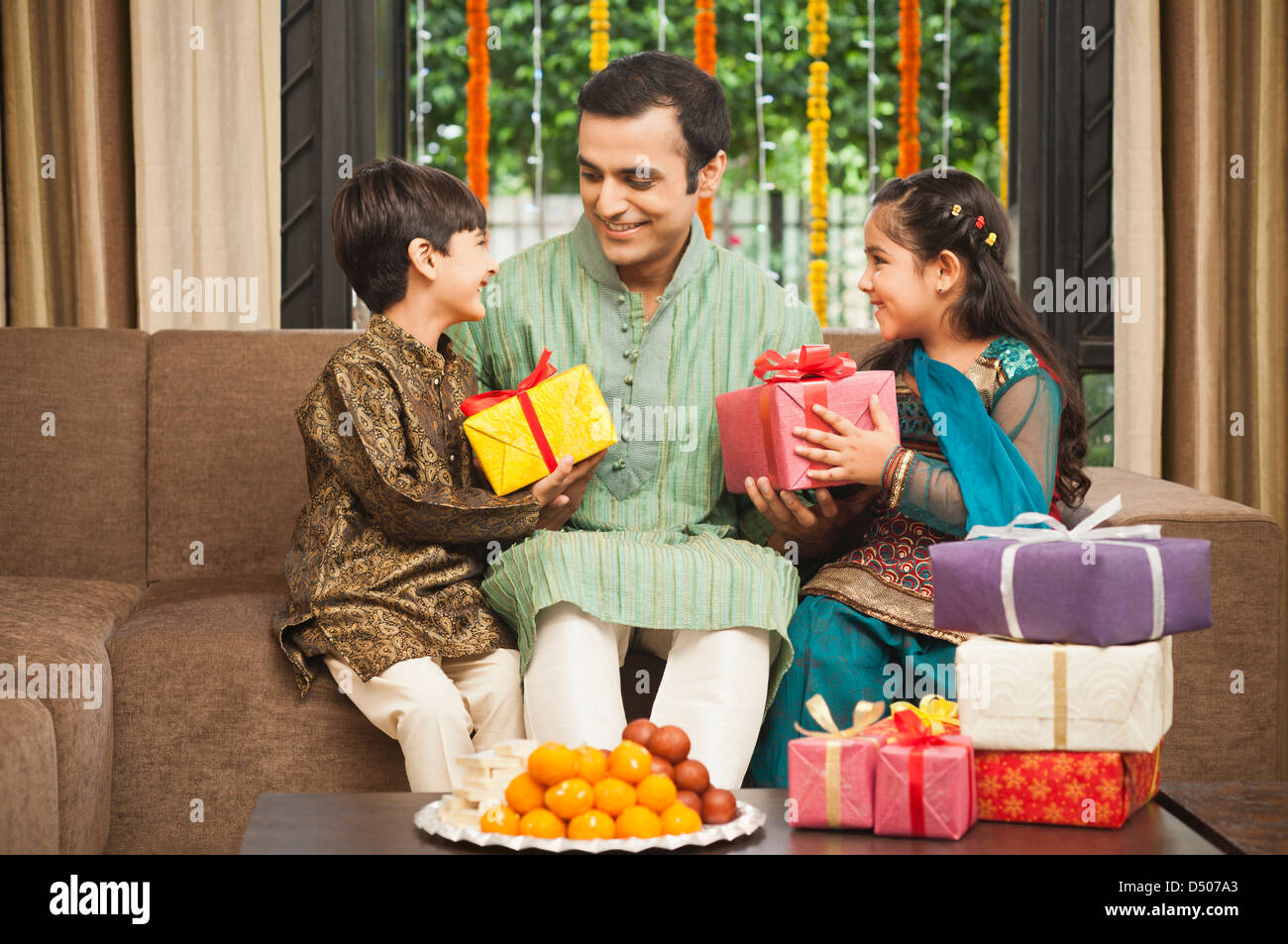 how to gift stock to child