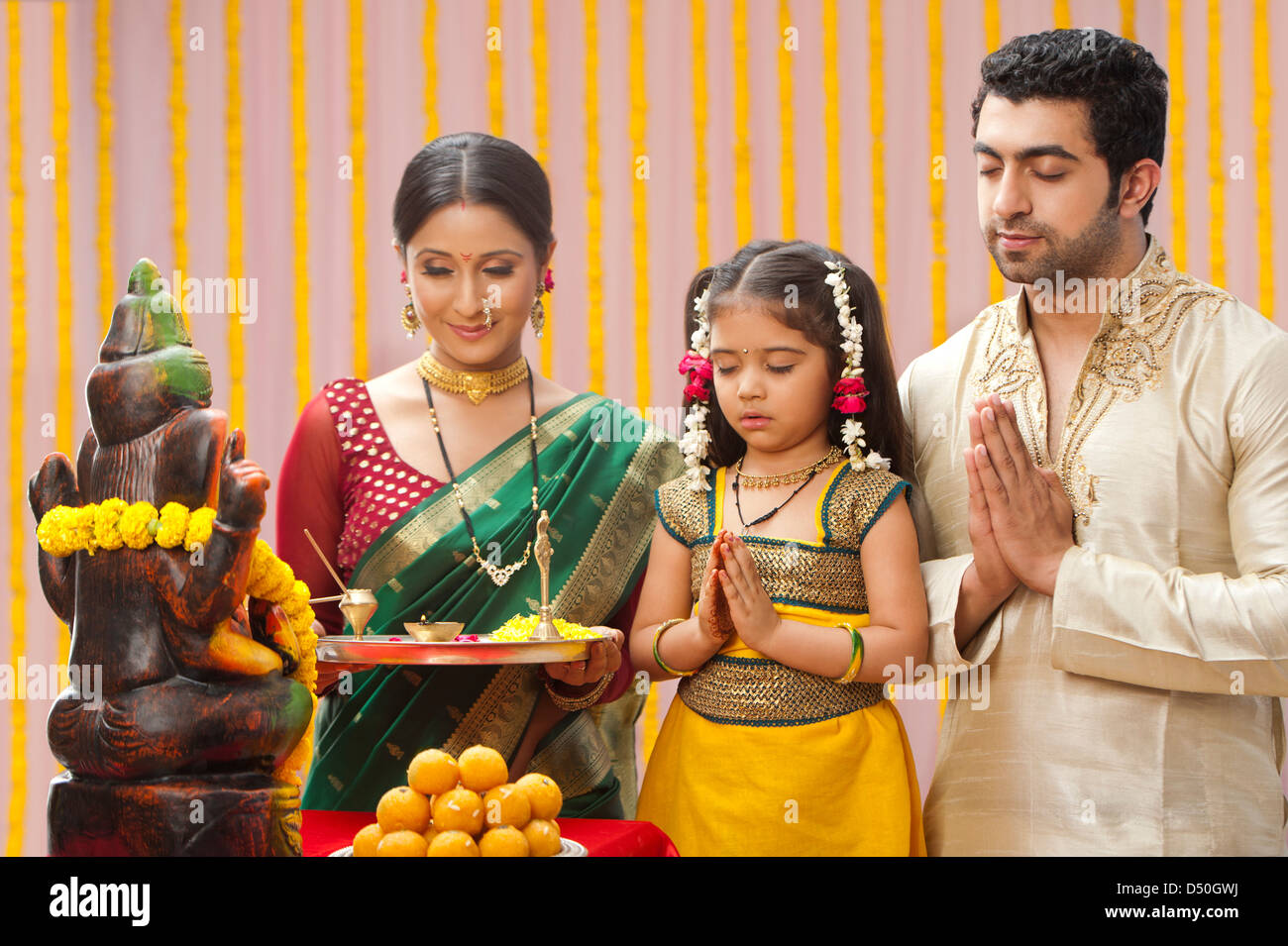 Image Gallery hindu family
