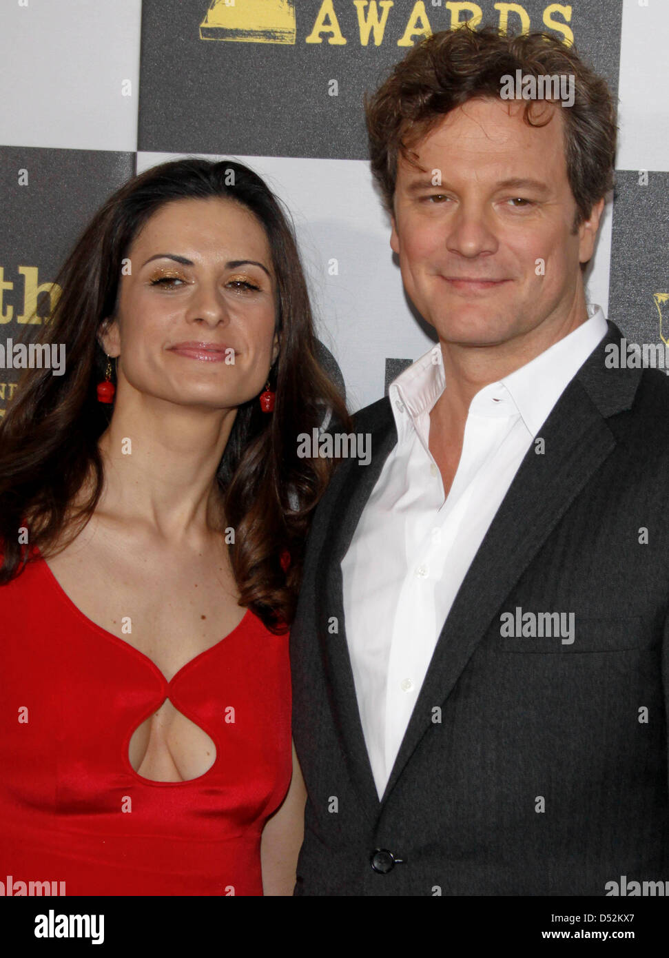 Actor Colin Firth Wife