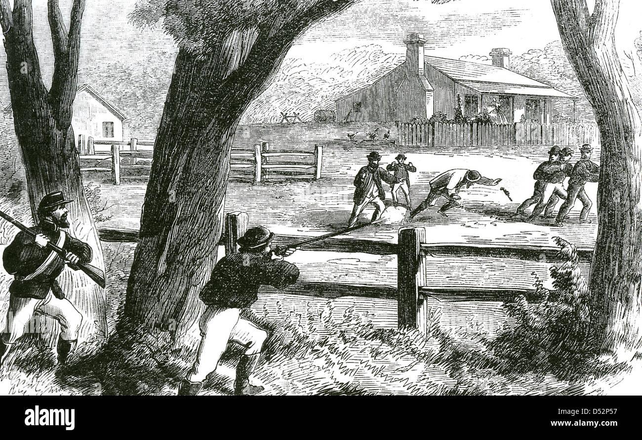Mad Dan Morgan 1830 1865 Australian Bushranger Is