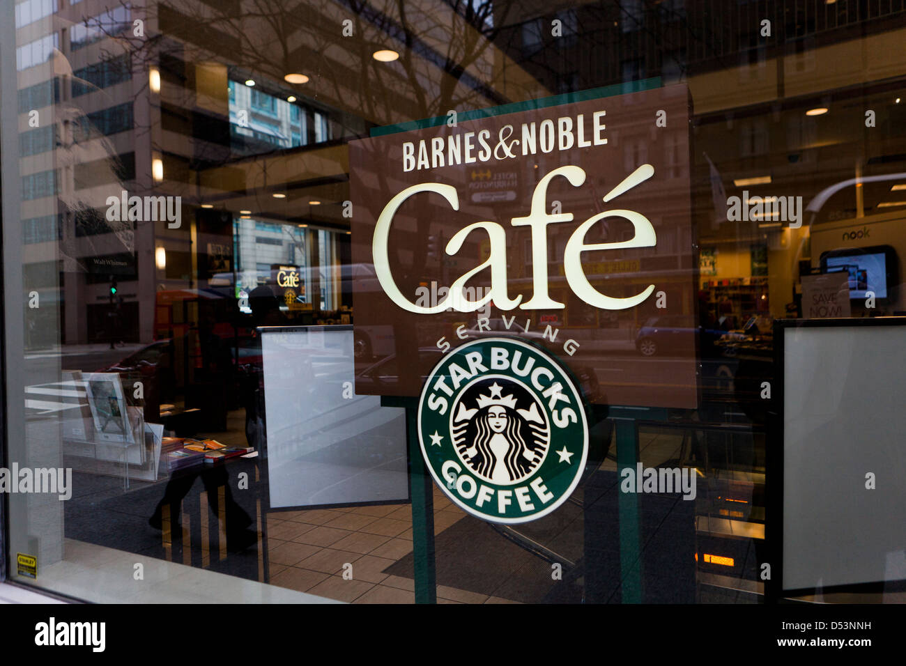 Barnes & Noble Cafe Sign Stock Photo, Royalty Free Image: 54787309 ...