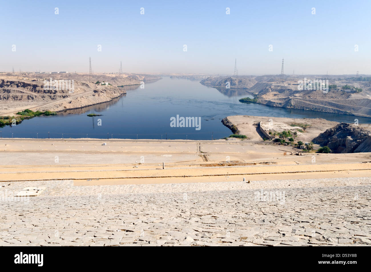 Egypt The Aswan High Dam Captures The Worlds Longest River The - What is the third largest river in the world