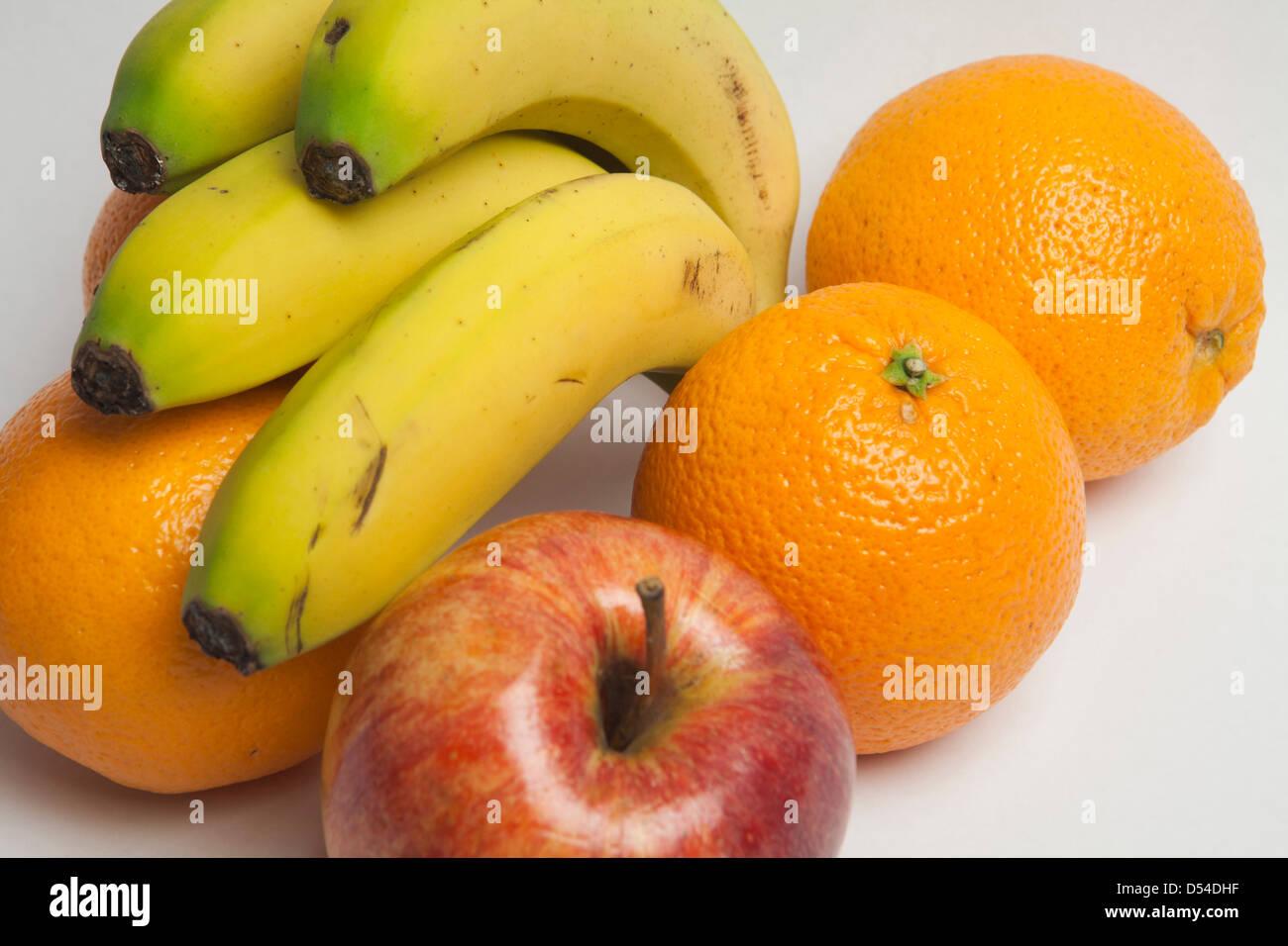 Healthy Diet Fiber Fruit Apple Assorted Banana