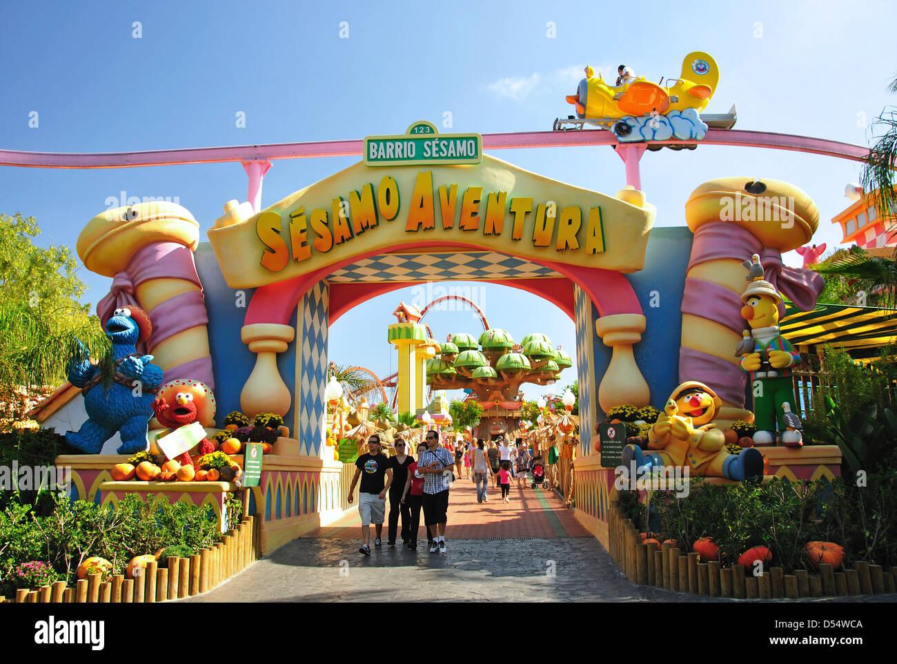 Entrance To SésamoAventura PortAventura Theme Park Salou Costa - Port aventura billet