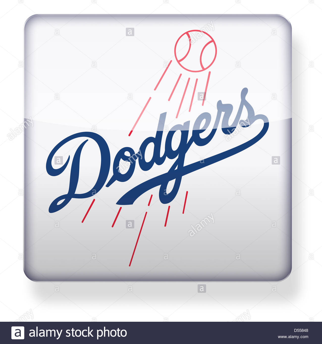 Los angeles logo icon app flag button of california stock photo los angeles dodgers logo as an app icon clipping path included stock photo buycottarizona Image collections
